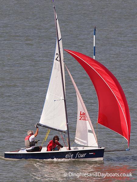 Laser 2000 Class Sailing Dinghy 2000