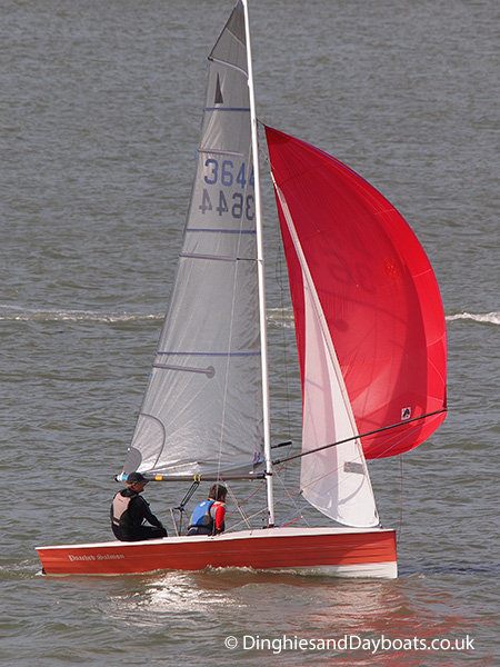Merlin Rocket class sailing dinghy