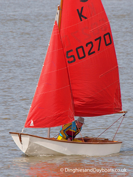 Mirror class sailing dinghy