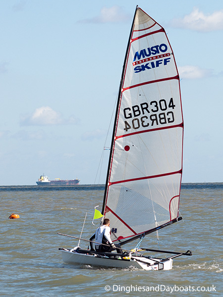 Musto Skiff class sailing dinghy