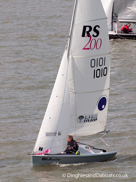 Rs 200 Class Sailing Dinghy