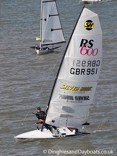 RS 600 class sailing dinghy